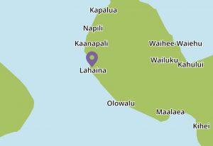 Komohana Hale map