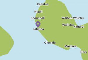 Lahaina Surf map